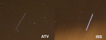 atv and iss